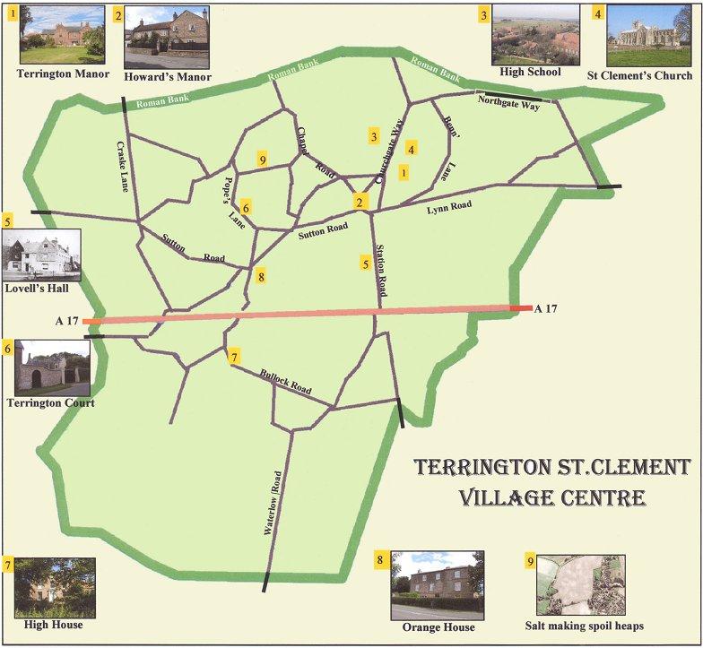 Website Site Map: Terrington St Clement History Cl
